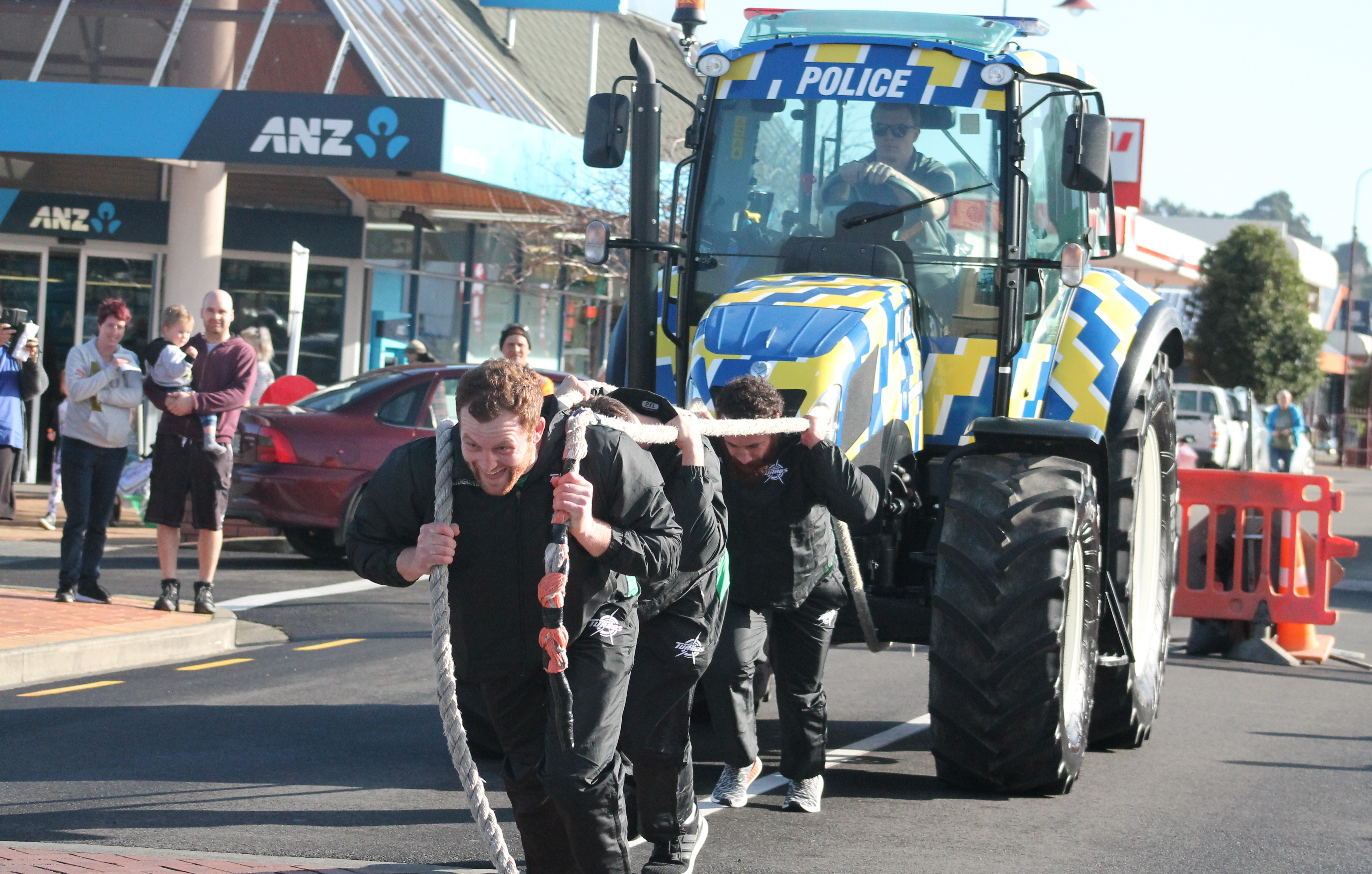 Turbos show their strength in tractor challenge