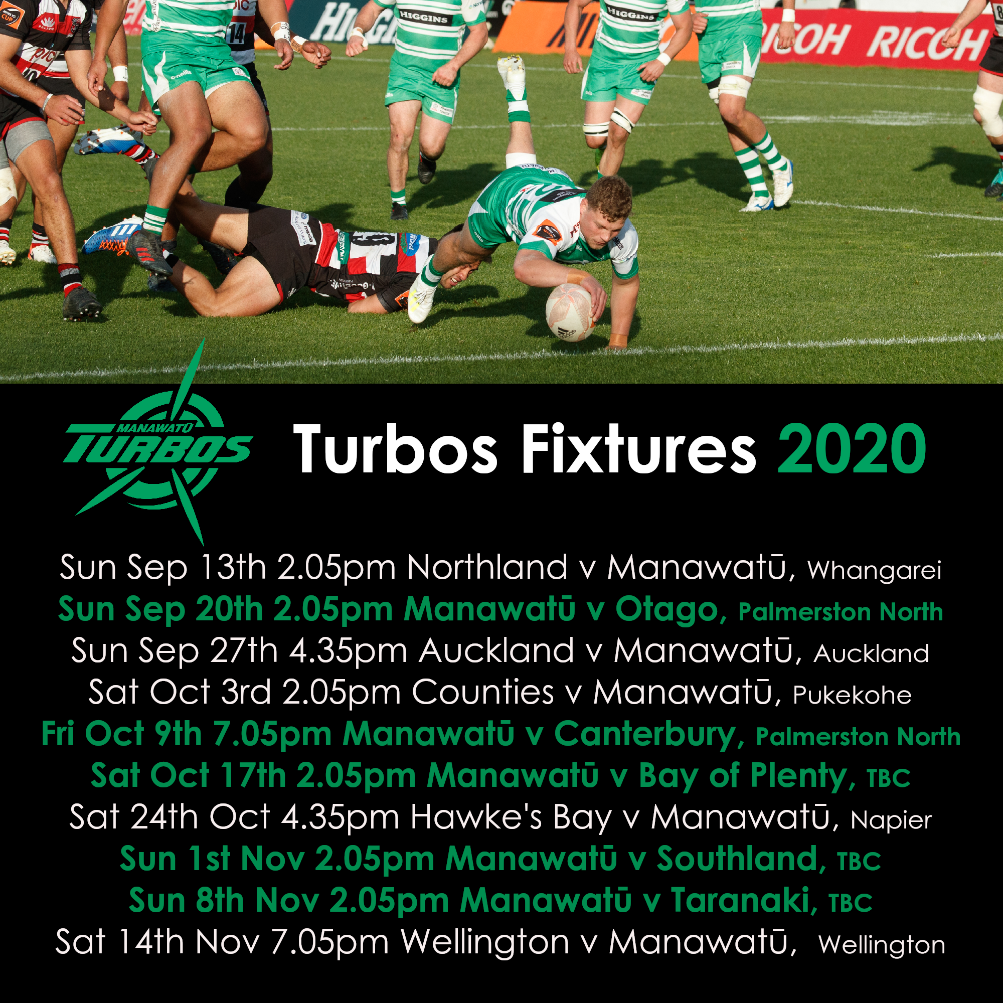 Revised Mitre 10 Cup draw released