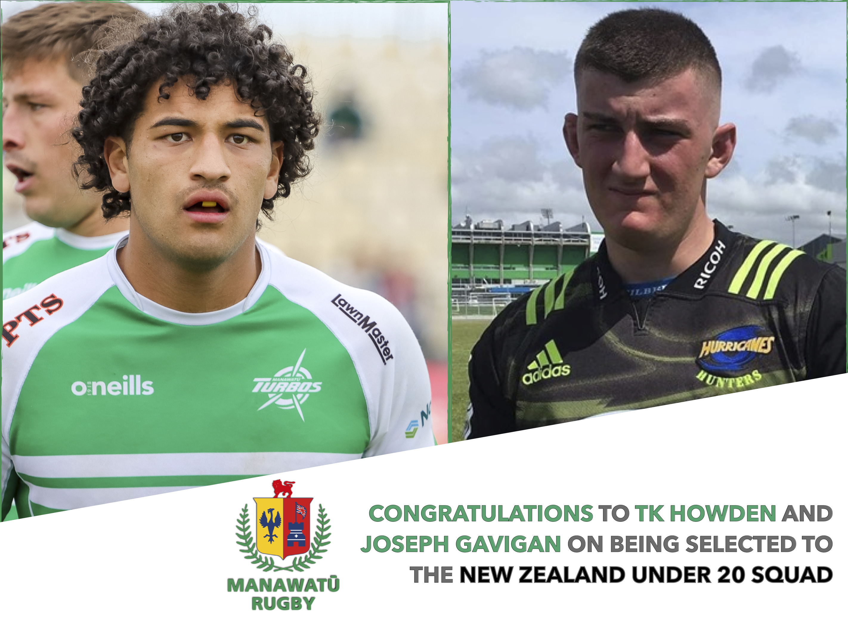 TK Howden & Joseph Gavigan selected in New Zealand Under 20 Squad For 2021